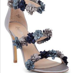 NEW Smoky Blue Ria Satin Sandal by charles david